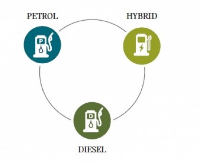 Petrol Hybrid Diesel