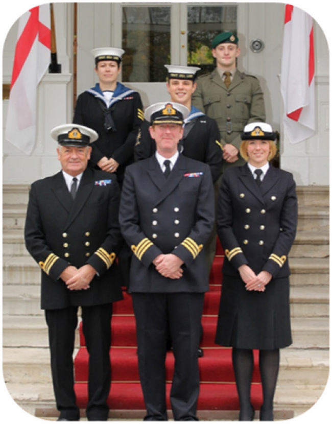 Royal Navy Presentation Team