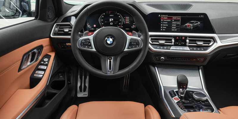 2020 BMW M3 Dashboard