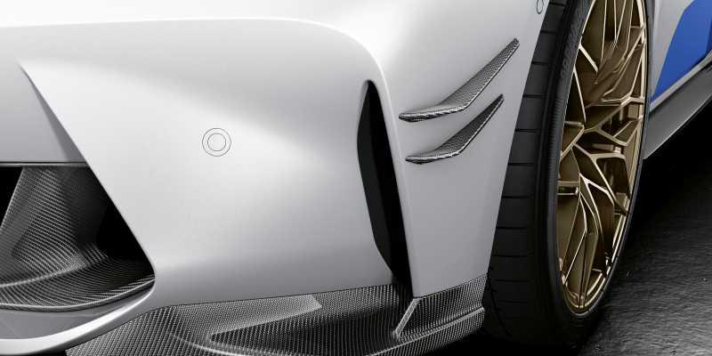 2020 BMW M3 M Performance parts front winglets