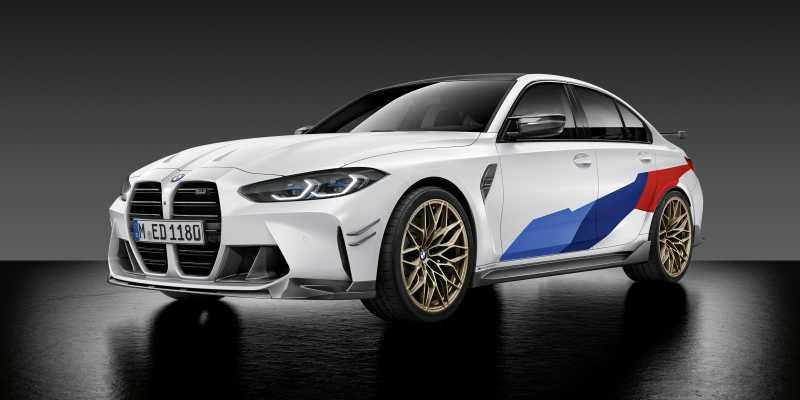 2020 BMW M3 M Performance parts front