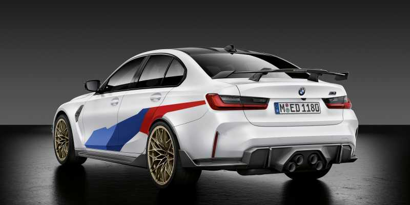 2020 BMW M3 M Performance parts rear