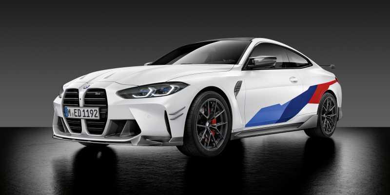 2020 BMW M4 M Performance parts front