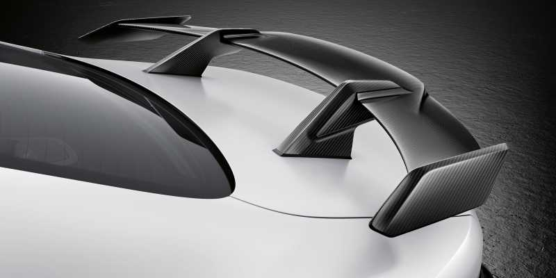 2020 BMW M4 M Performance parts rear wing