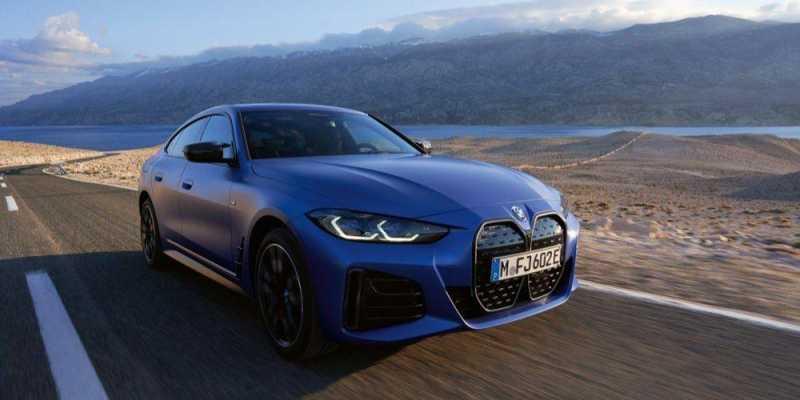 BMW i4 M50 Image New Car 2021