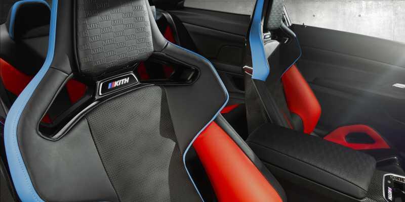 BMW x KITH bmw m4 competition x 5