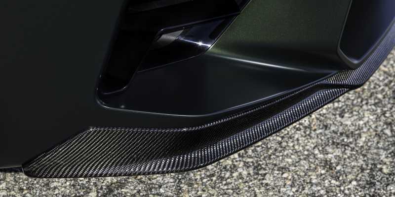 M5 CS Carbon Front Splitter