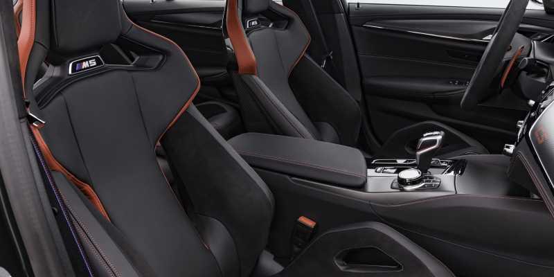 M5 CS Carbon Passnger Seat