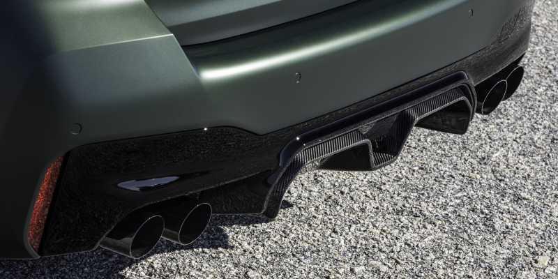 M5 CS Carbon Rear Diffuser