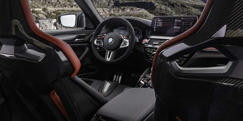 M5 CS Carbon Seat Rear Angle