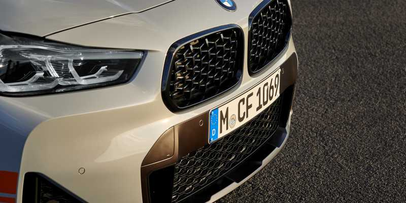 X2 Mesh front grill