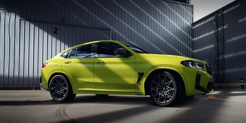New BMW X4 M Competition