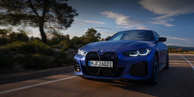 New BMW i4 M50