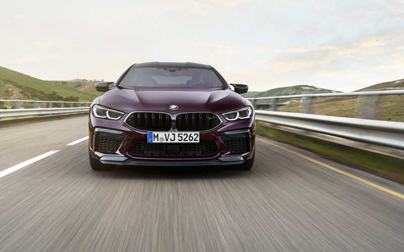 BMW M8 GC Front 2