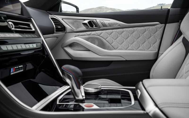 BMW M8 GC Interior 4