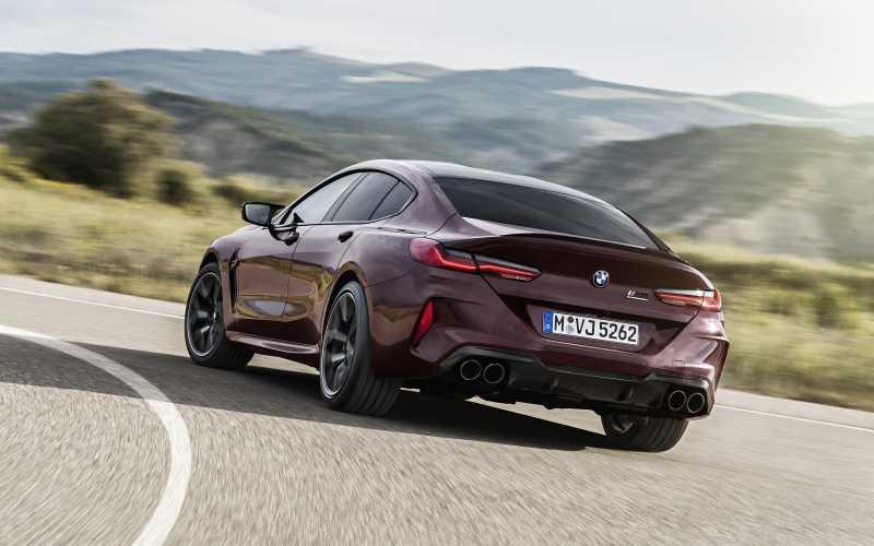 BMW M8 GC Rear 1