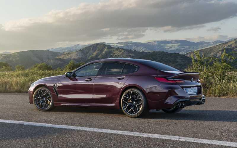 BMW M8 GC Rear 2