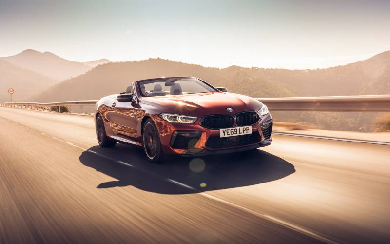 BMW M8 Convertible Front 1