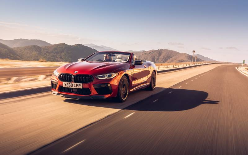 BMW M8 Convertible Front 2