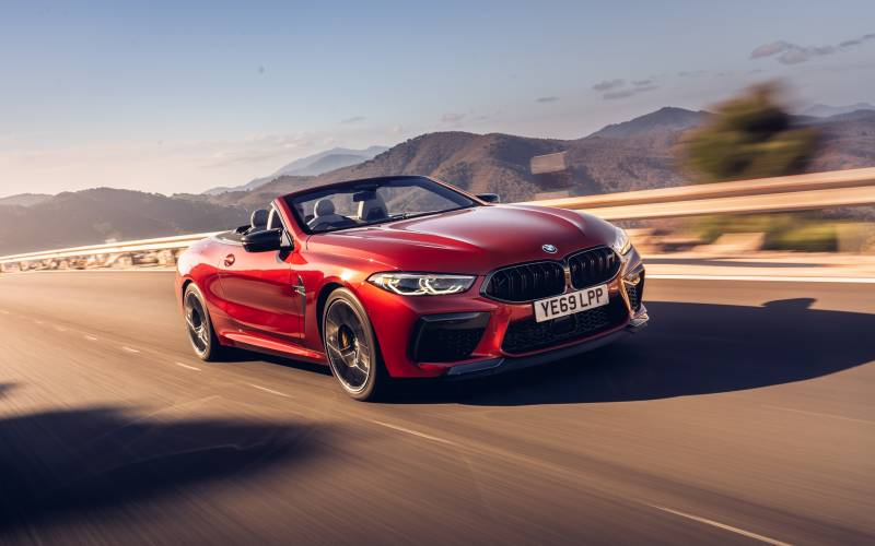 BMW M8 Convertible Front 3
