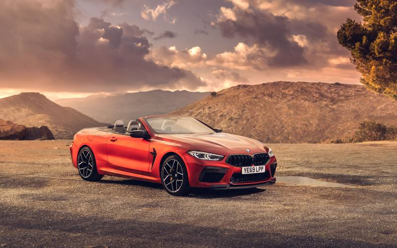BMW M8 Convertible Front 4