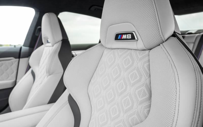 BMW M8 GC Interior 3