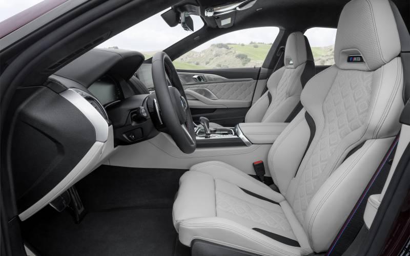 BMW M8 GC Interior 5