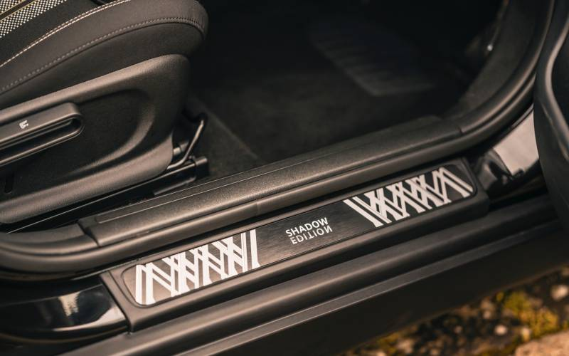 MINI Clubman Countryman Shadow Edition Image Interior Door Sill New Car