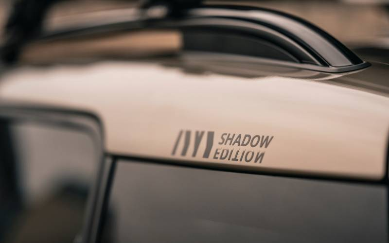 MINI Countryman Shadow Edition Image Side Detail Roof Bars New Car