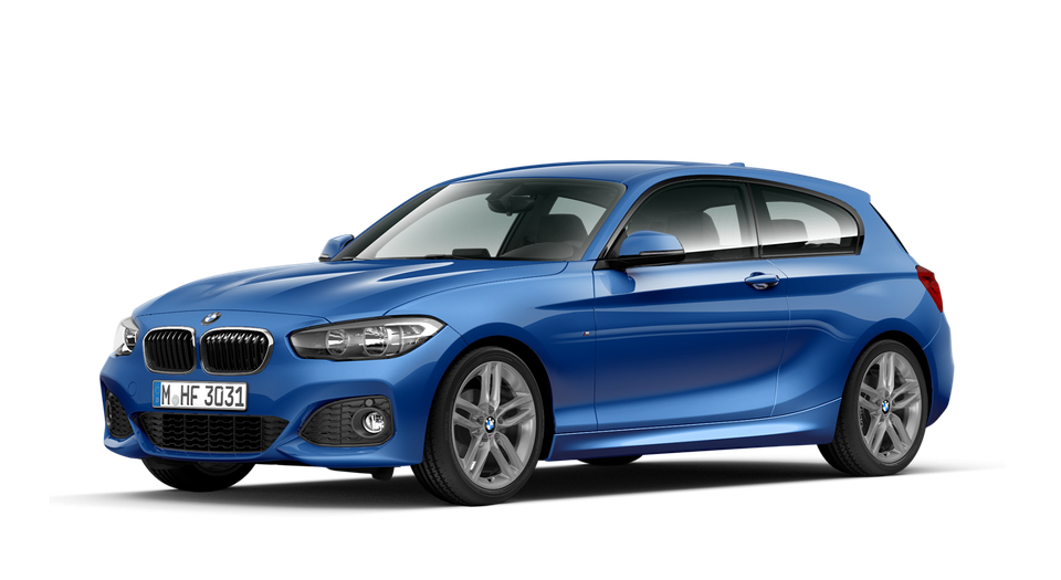 The New BMW 1 Series 3-Door Sports Hatch