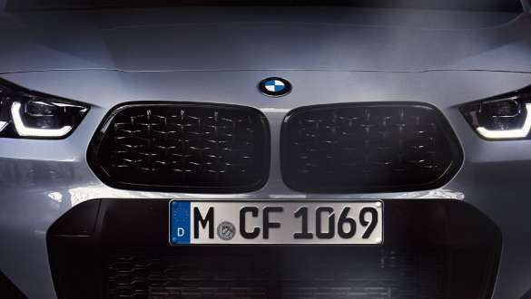 M Mesh Grille.