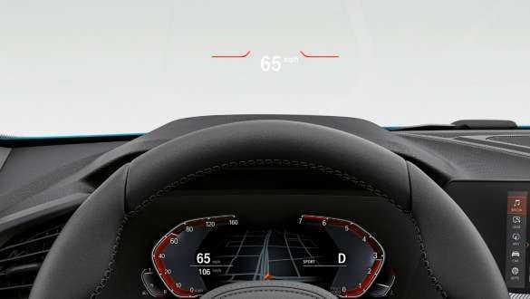 BMW Head-Up Display.