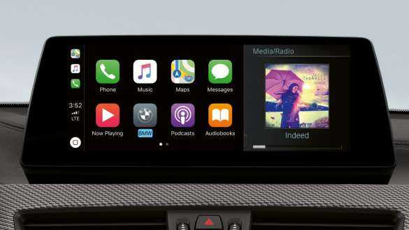 Apple CarPlay® preparation.